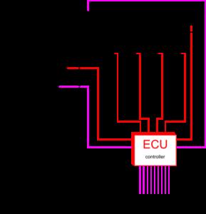 Схема топливной системы в двигателях common rail