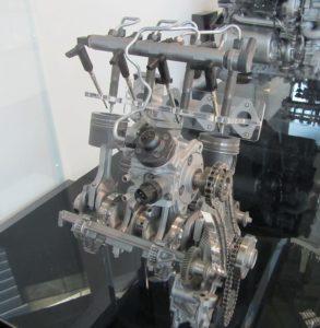 Вид конструкции common rail на BMW N47D20