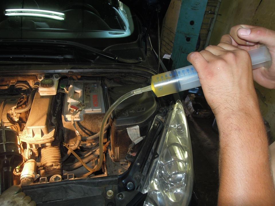 Замена масла в механической трансмиссии