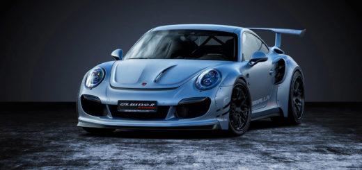 Обзор и фото Porsche Gemballa - Порше Гембалла (GTR 8XX EVO-R)